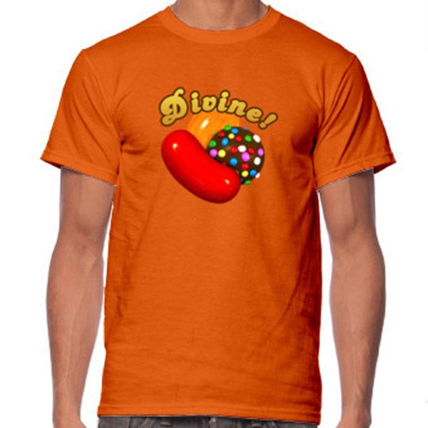 Camiseta Candy Crush.