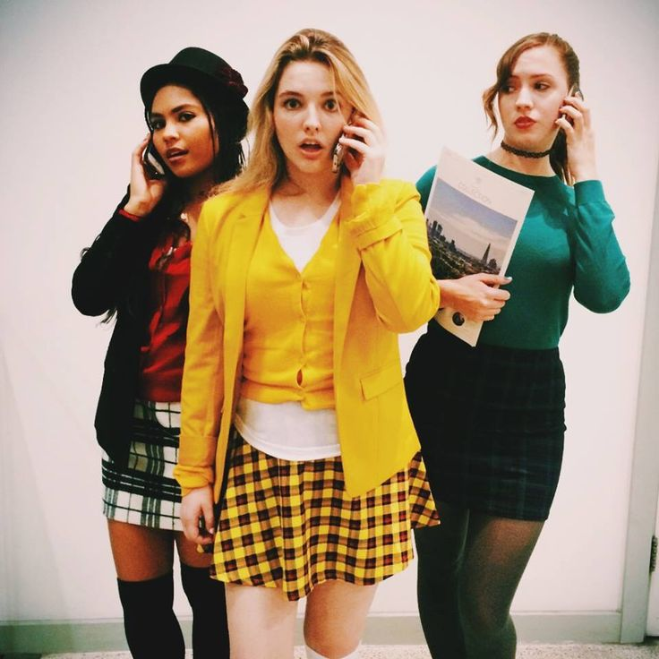 CLUELESS ❤️ Cher, Dionne, and Tai Halloween costumes done right!