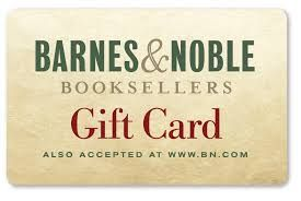 barnes and noble gift card - Google Search any amount, lots of books I'm wanting to read right now