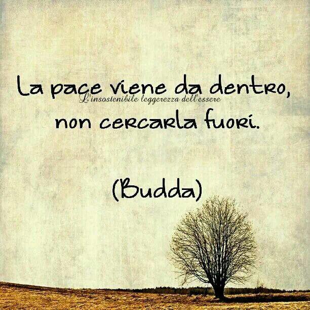 La pace...