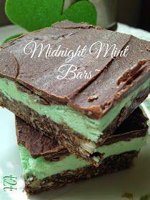 Midnight Mint Bars
