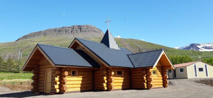 Na Islande posvätili kostol zo slovenského dreva (fotogaléria)