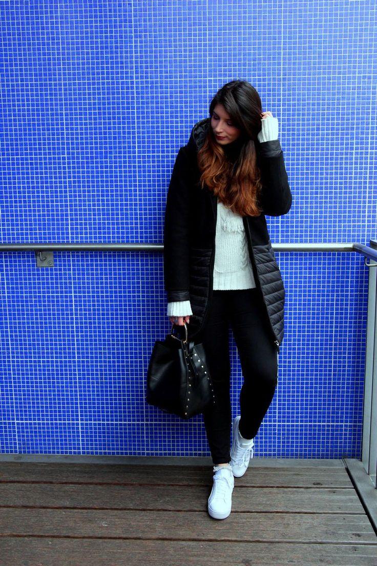 Si il y a bien un truc que je ne porte pas et que je n'aime pas (sur moi) ce sont les doudounes malgré qu'elles soit méga tendance ! Et je pense avoir trouver le meilleur compromis entre manteau et doudoune !
