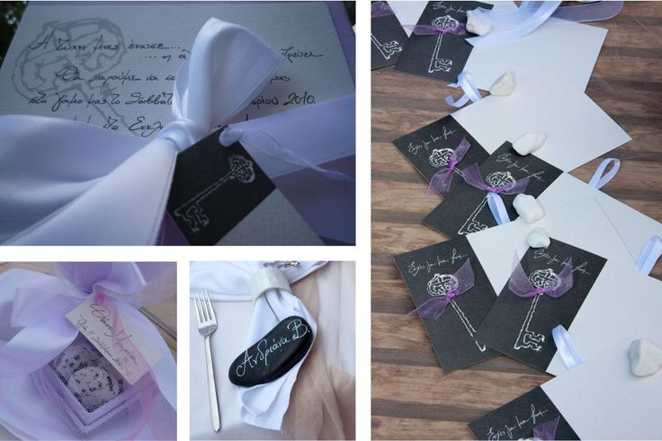 Chirography on your personilized wedding details