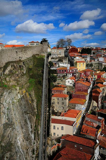 Porto, Portugal near the Muralha Fernandina (Ferdinand Wall)