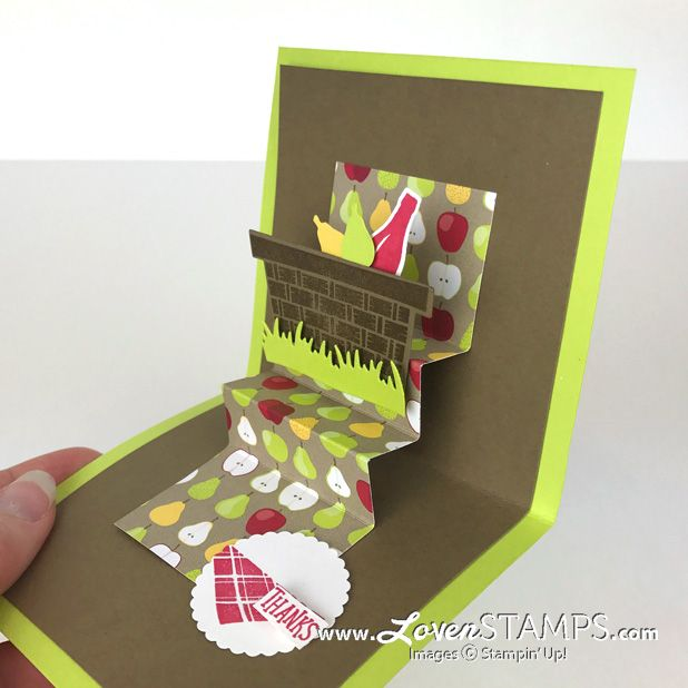 Happy Pi Day Celebrate With The Simplest Pop Up Card Ever The Stair Step Pop Up Lovenstamps Happy Pi Day Cards Card Tutorial