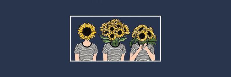 Twitter • Header • Sunflower • Wild Child • Background