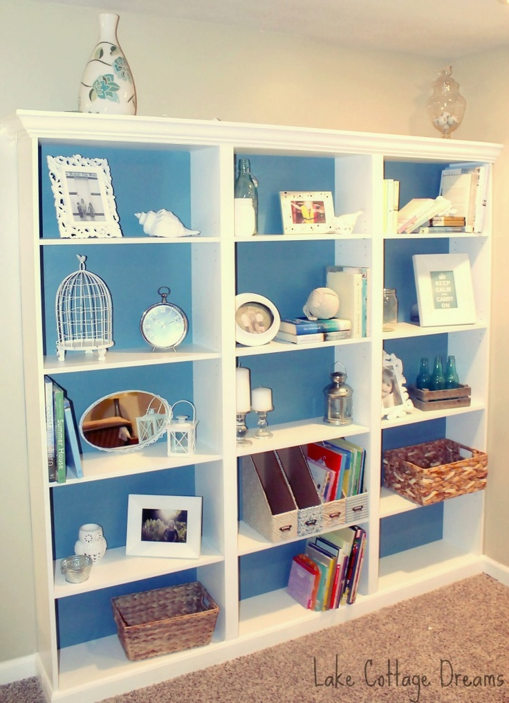 Lake Cottage Dreams: DIY Built Ins from Walmart Cheapies