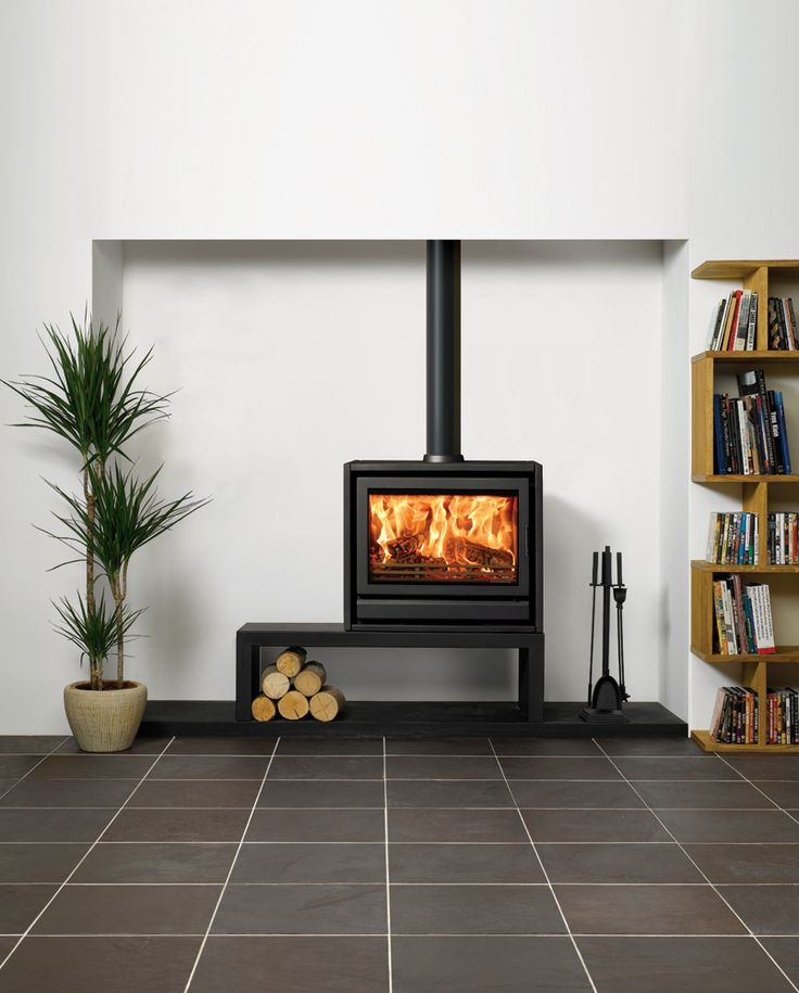 Wider still than the Stovax F66, the F76 Freestanding stove is a wood burning appliance only. However, it has the potential to create an outstanding landsc