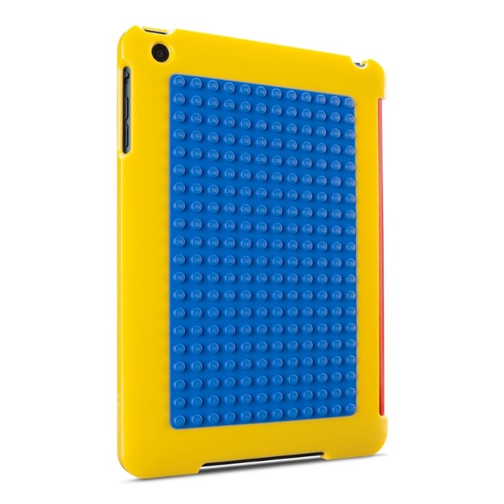 LEGO iPad cases for Belkin. Maybe the kids will play with this and leave your tablet alone?Belkin Lego, Builder Cases, Minis Dog Qu, Ipad Cases, Cases Yellow, Lego Ipad, Mom Tech, Lego Builder, Kids Ipad Minis Cases