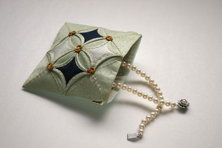 ポジャギJP:ギャラリー:如意珠紋のアクセサリーポーチ