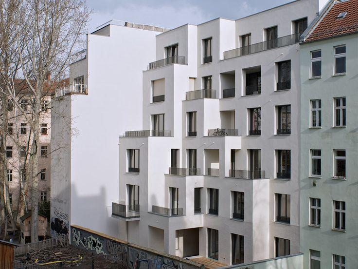 best architects architektur award // Trutz von Stuckrad Penner / / Niederbarnimstrasse Apartments / Wohnungsbau/Mehrfamilienhäuser
