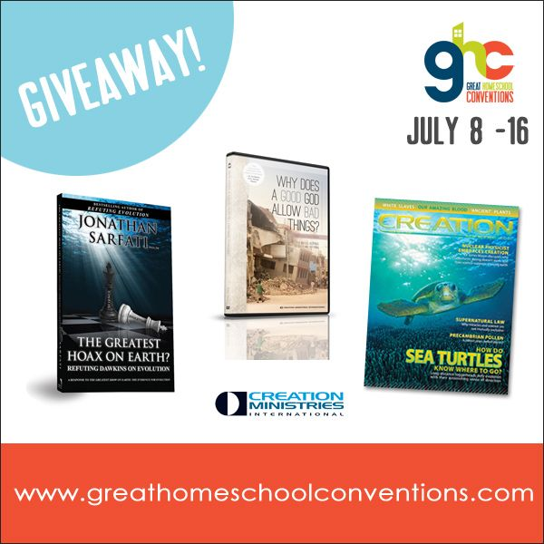 FREE Creation bundle from Creation Ministries International