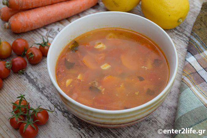 Κοτόσουπα με λαχανικά και φρέσκα αρωματικά – enter2life.gr