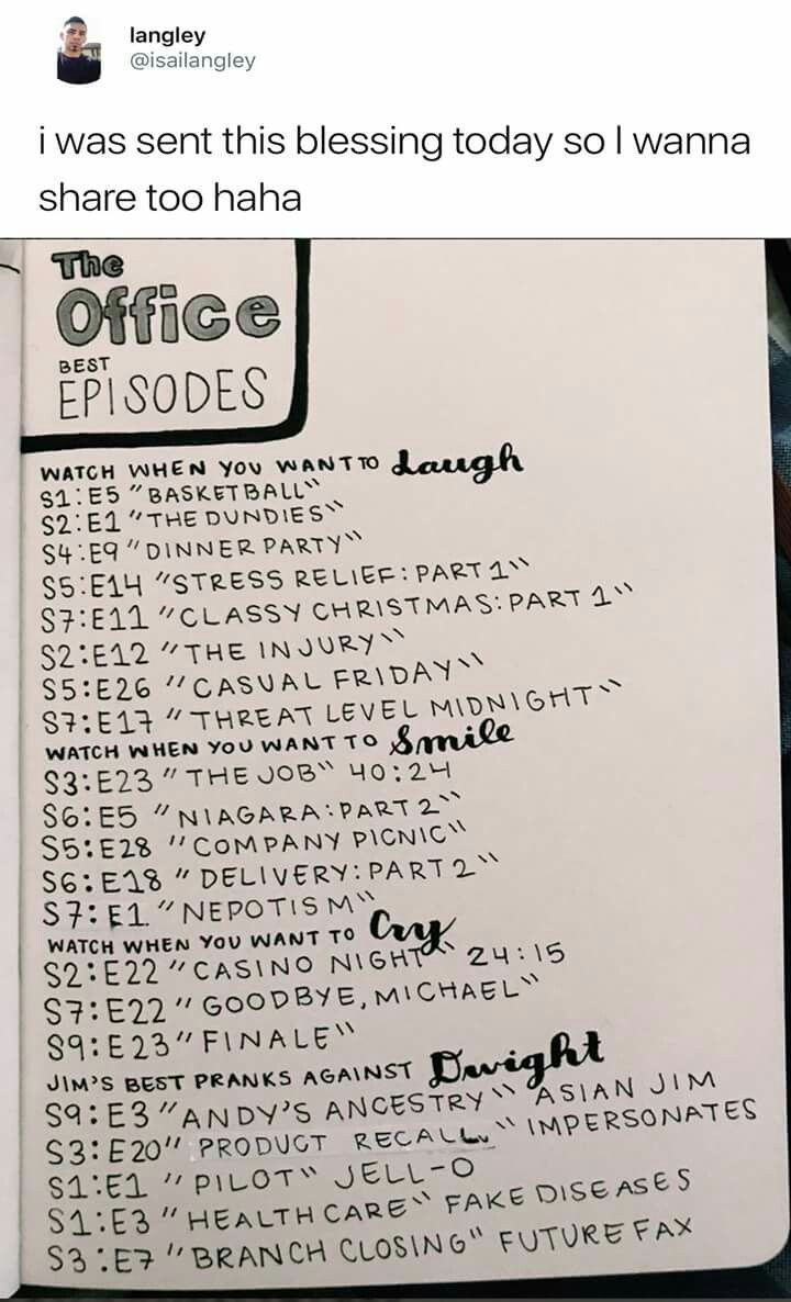 Best Episodes Of The Office Oh And Also Fun Run The Episode Where