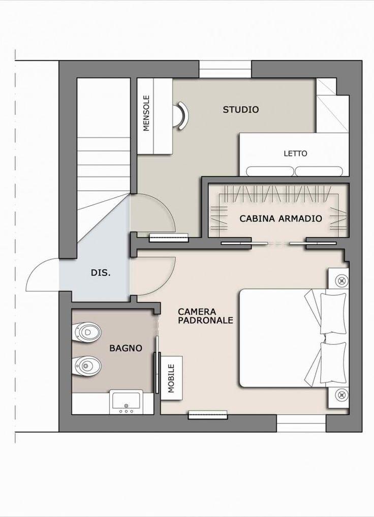 best 25+ stanza da letto piccola ideas on pinterest | arredamento ... - Progettazione Camera Da Letto