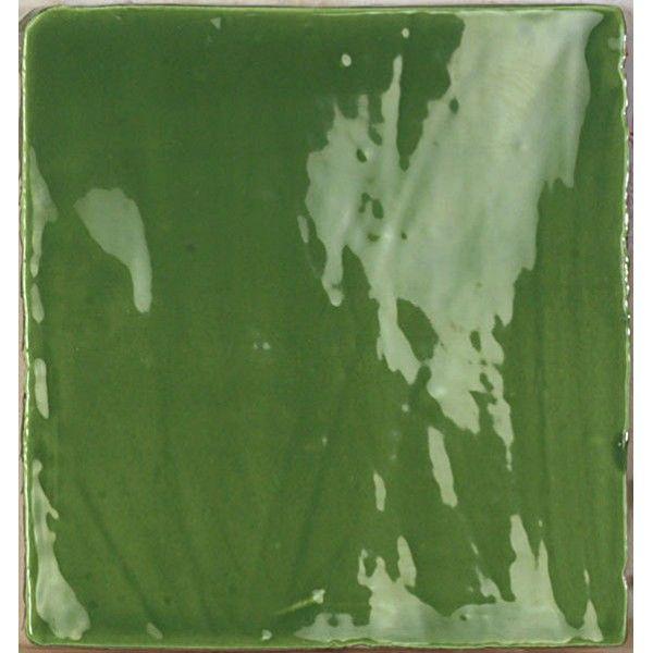 Kolekcja Mediterranean - płytki ścienne Mediterranean Green 15x15