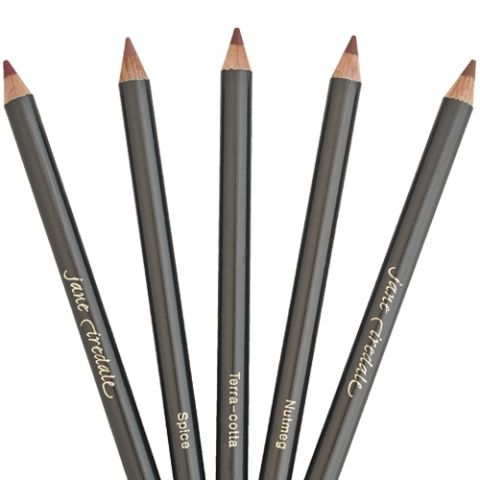 "I love a nude lip with a smokey eye and Jane Iredale's lip pencil in ""Nude"" (how appropriate) :-) does the trick."