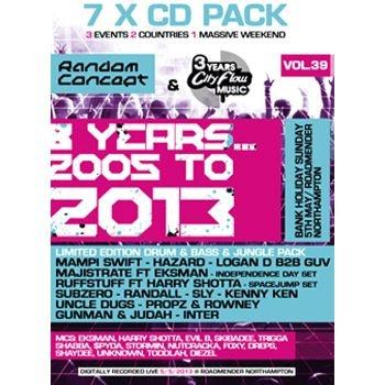 Random Concept 8th Birthday - 7xCD Pack Label:Random Concept  Catalogue Number: RANDOM39 Format: 7 x CD Styles: Random Concept £17.49 (£20.99 inc VAT)
