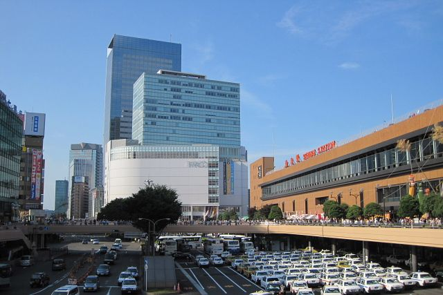SENDAI station  JAPAN  仙台駅