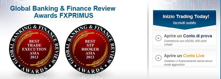 FXPrimus : Miglior Broker STP Asia 2013 e Miglior compravendita Esecuzioni Asia 2013! http://world-forex-directory.blogspot.it/2013/12/fxprimus.html
