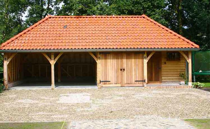 Oak Framed Garage 3 Bay Half Hipped | House Ideas | Pinterest | Building,  Walls And Room