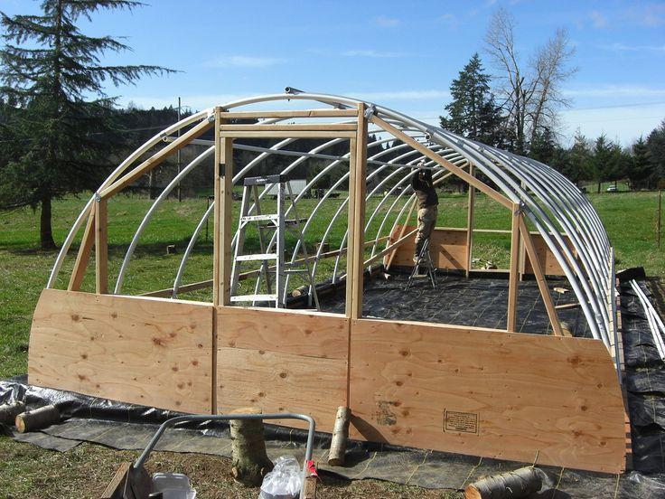 Diy Greenhouse Plans Hoop House