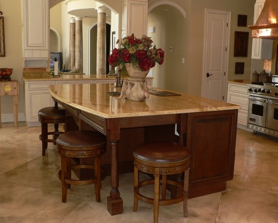 17 images about kitchen islands on pinterest columns for Elegant kitchen island designs