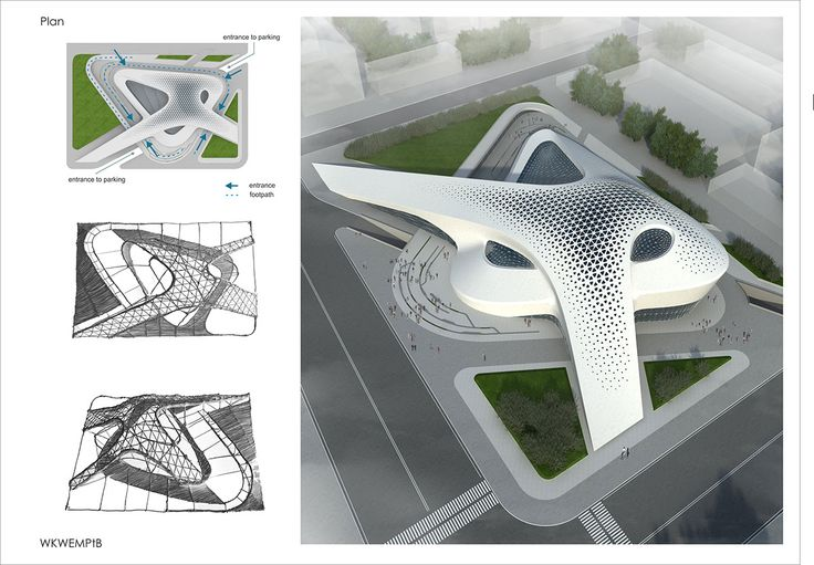 A shopping mall project on behance amazing architecture for Arquitectura parametrica pdf