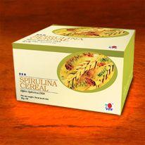 Spirulina Cereal Spirulina staat bekend als een evenwichtige voedzaam voedsel terwijl vezelrijke granen gewoonlijk worden aanbevolen door de voedingsdeskundigen. DXN Spirulina Cereal is gemaakt van hoogwaardige granen EN spirulina poeder en is een van de beste nutritionele bronnen. http://gezondekoffie.dxnnet.com/products#katnev_2