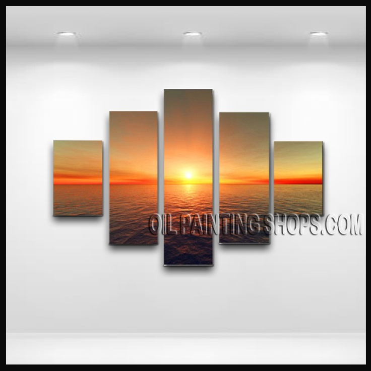 23 Best Images About Seascape Painting Sunrise On