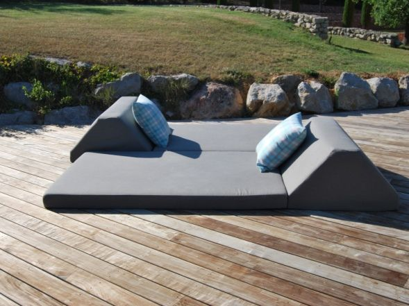 17 best ideas about matelas exterieur on pinterest - Coussin exterieur impermeable ...