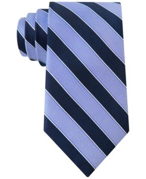 Club Room Men's Sail Stripe Classic Tie, Only at Macy's - Blue