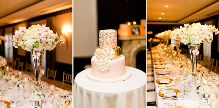 An intimate wedding at the Ritz Carlton || Floral by Alain Simon Fleurs || Cake by San Marco || Photography: Bartek and Magda