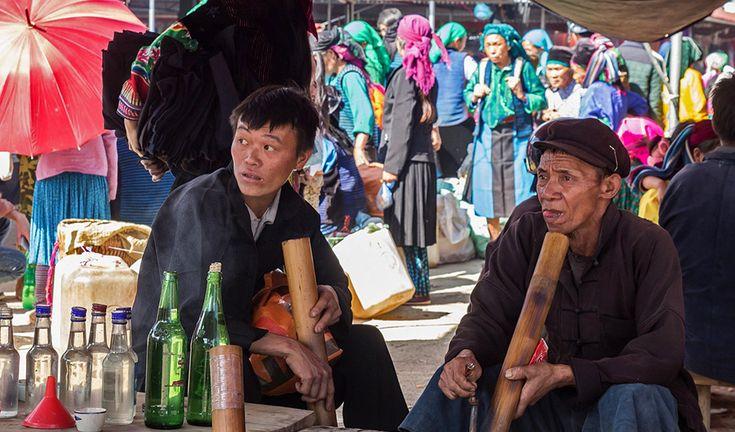 Dong Van ethnic market in Ha Giang. #vietnam #dongvan #ethnic #market #hagiang #travel #wander