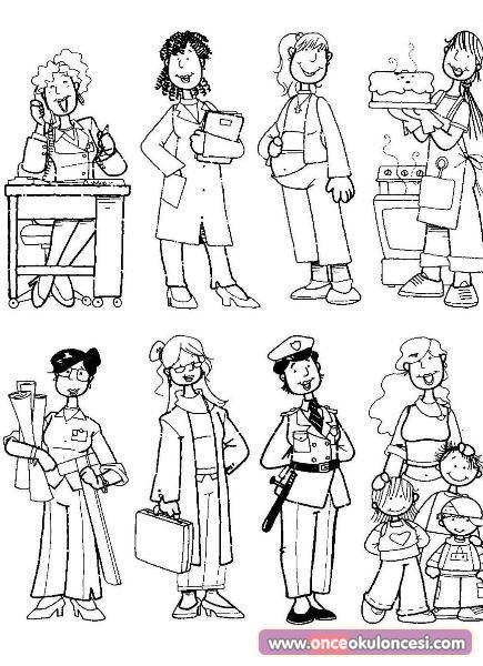 8 Mart Dünya Kadınlar Günü Drawing Pinterest