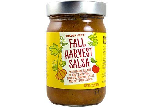 Trader Joe's | Fall Harvest Salsa |12oz  $2.99  #traderjoes #salsa #fall #pumpkin