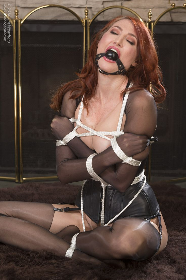Tied up in pantyhose fantasy