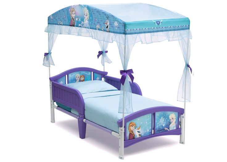 found it at wayfair disney frozen toddler canopy bed