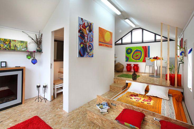 industrial Bedroom by Rusticasa