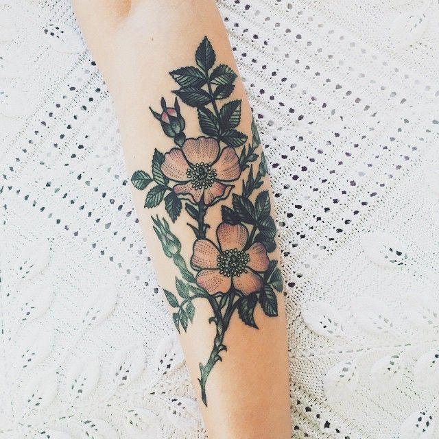 Tattoos that don't suck — 1337tattoos: Olga Nekrasova