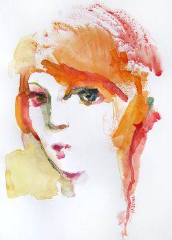 Couleur Rousse De Sylvia Baldeva 2019 Oeuvre Sur Papier