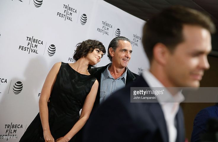Frankie Shaw,, Robin Thomas and Johnny Simmons attend 'Dreamland' premiere during 2016 Tribeca Film Festival at Chelsea Bow Tie Cinemas on April 14, 2016 in New York City.
