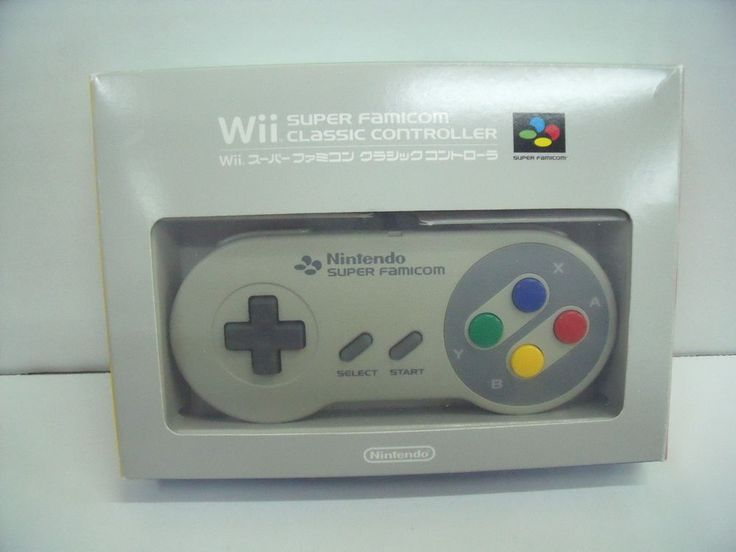 Nintendo Wii Super Famicom Classic Controller from Japan (c): $42.00 End Date: Wednesday Feb-7-2018 4:24:37 PST Buy It Now for only: $42.00…