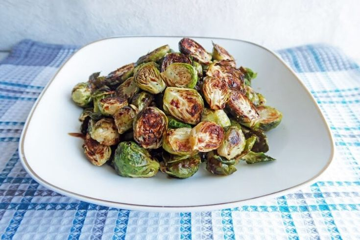 Roasted Brussels Sprouts with Balsamic-Maple Glaze – Yay! For Food   – Delicious