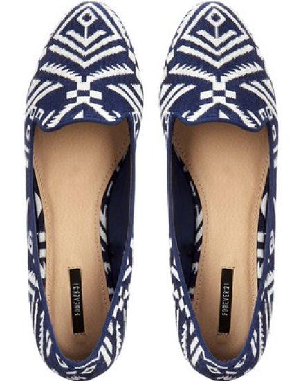 Globetrotter Loafers, $25