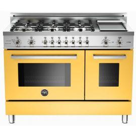 Les cuisinières de la gamme Bertazzoni Master Series apportent une véritable touche professionnelle à votre cuisine. Ils sont entièrement conçus pour la performance et conçus avec des dimensions standard pour travailler avec des modèles et des unités de cuisine existantes. La cuisinière est de 48