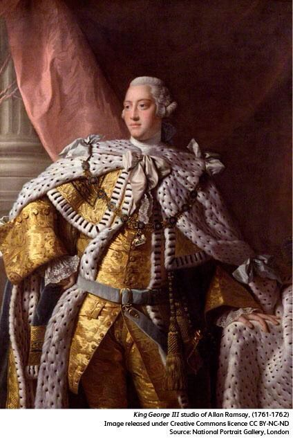 @NPGLondon: King George III was born #onthisday in 1738, the first Hanoverian king born and raised in England.