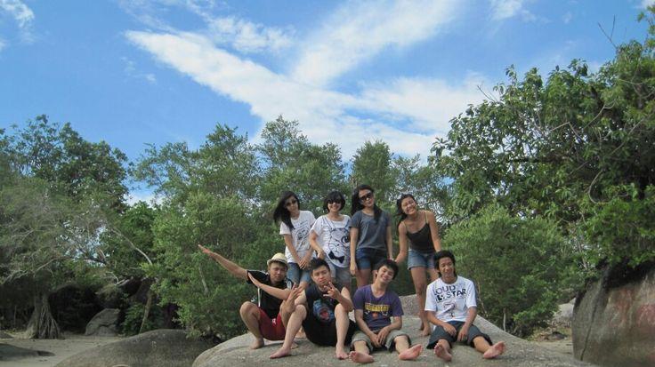 When we were in belitung island