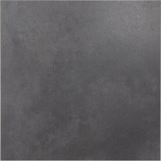 Carrelage int rieur live premium en gr s gris smoke 48 7 for Carrelage interieur gris